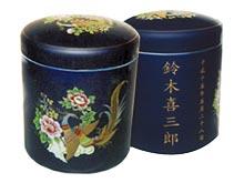 18-容器骨壺瑠璃鳳凰名入